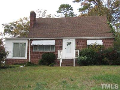 Lee County Single Family Home Pending: 508 W Chisholm Street