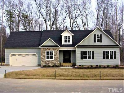 Clayton Single Family Home For Sale: 376 Knights Bridge Drive #Lt29
