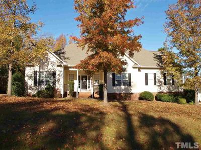 Garner Single Family Home Pending: 1005 Cabin Hill Way