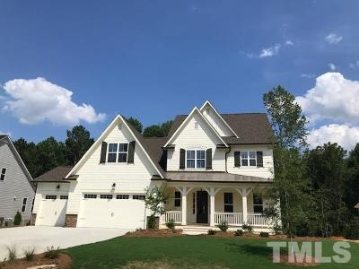 Garner Single Family Home For Sale: 5137 Glen Creek Trail