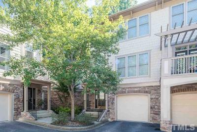 Raleigh Townhouse For Sale: 4830 Crestmore Road