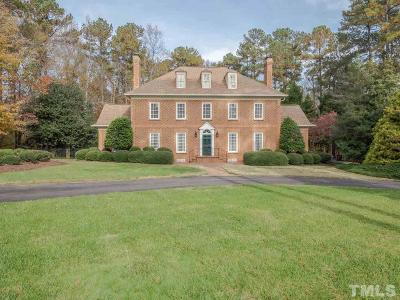 Raleigh Single Family Home For Sale: 1300 King Cross Court