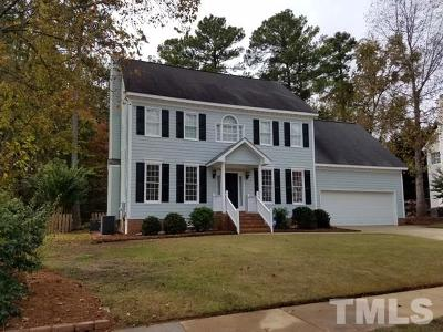 Raleigh Single Family Home For Sale: 2912 Coxindale Drive