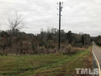 Chatham County Residential Lots & Land For Sale: McLaurin Road