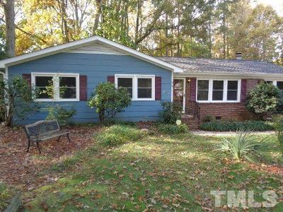 Cary Rental For Rent: 309 White Oak Drive