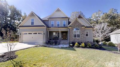 Raleigh Single Family Home Contingent: 3128 Constance Circle