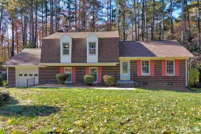 Cary Single Family Home Contingent: 1212 Lochcarron Lane