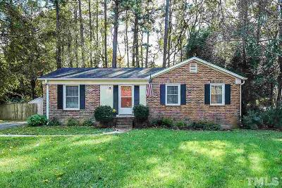 Raleigh Single Family Home For Sale: 6104 Whittier Drive