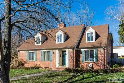 Chatham County Single Family Home For Sale: 614 W Fifth Street