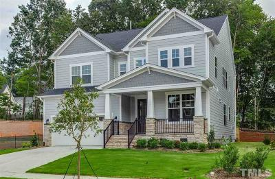 Raleigh NC Single Family Home For Sale: $499,990