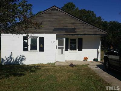 Dunn Single Family Home For Sale: 803 E Harnett Street