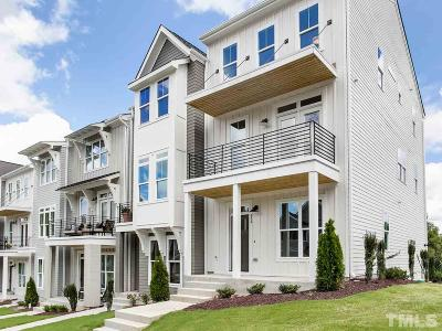 Raleigh Townhouse Pending: 743 Peakland Place