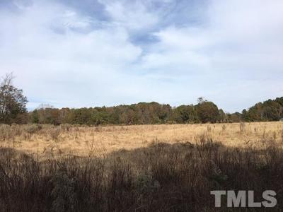 Chatham County Residential Lots & Land Contingent: 3931 Manns Chapel Road