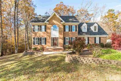 Fuquay Varina Single Family Home For Sale: 5000 Beckwyck Drive