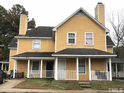 Raleigh Multi Family Home For Sale: 4704 Hoyle Drive