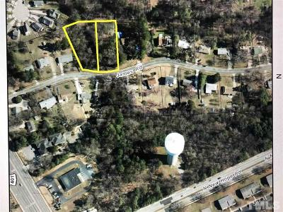 Raleigh Residential Lots & Land Contingent: 4404 James Road