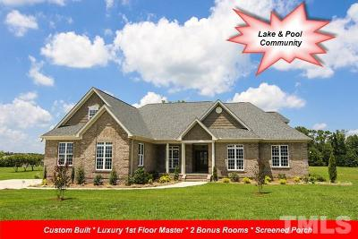 Johnston County Single Family Home Contingent: 40 Waterbury Court