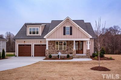 Wake Forest NC Single Family Home For Sale: $500,000