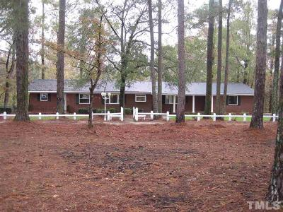 Harnett County Single Family Home For Sale: 3875 Old Stage Road