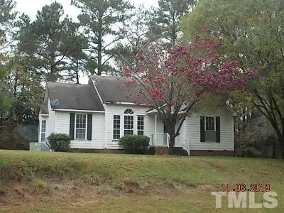 Wake County Single Family Home For Sale: 7145 Beaman Court