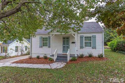 Wake County Single Family Home For Sale: 1802 Midwood Drive