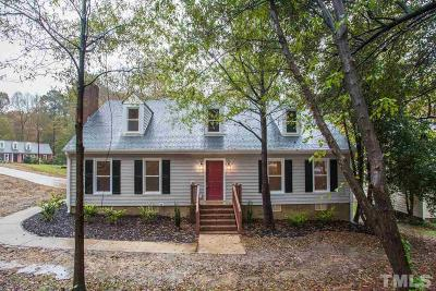 Cary Single Family Home Contingent: 110 Joel Court