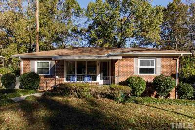 Durham Single Family Home For Sale: 703 E Hammond Street