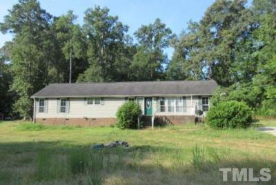 Wake County Manufactured Home For Auction: 2100 Coley Creek Court