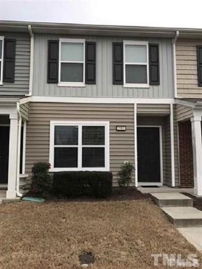 Raleigh Townhouse Contingent: 2913 Berkeley Springs Place