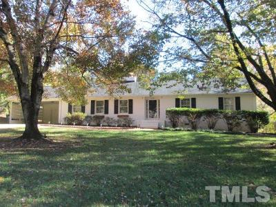 Raleigh Single Family Home For Sale: 4416 Camelot Drive