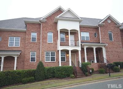 Apex Townhouse For Sale: 449 Heritage Village Lane
