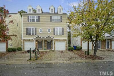 Raleigh Townhouse Contingent: 2176 Persimmon Ridge Drive