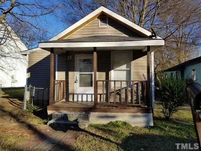 Raleigh Single Family Home For Sale: 707 Cumberland Street