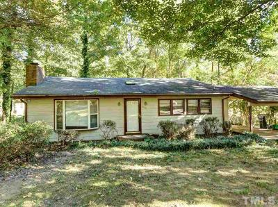 Raleigh Single Family Home For Sale: 6610 Johnsdale Road