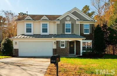 Durham Single Family Home For Sale: 710 Weathervane Drive
