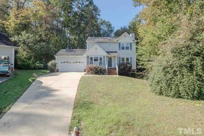 Raleigh Single Family Home For Sale: 6100 Steeds Run Drive