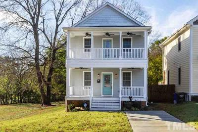 Raleigh Single Family Home For Sale: 822 E Davie Street