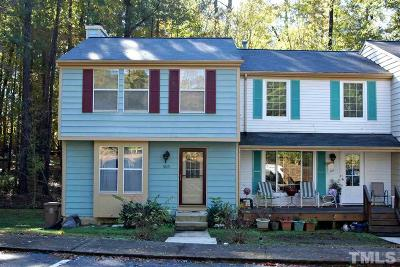 Cary Townhouse For Sale: 505 Middleton Avenue