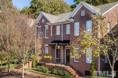Raleigh Townhouse For Sale: 623 Highpark Lane
