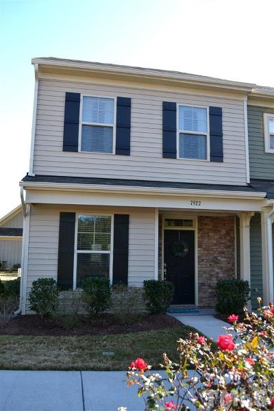 Raleigh Townhouse For Sale: 7922 Allscott Way