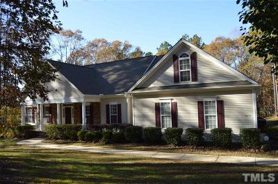 Wake Forest Single Family Home For Sale: 3677 Rodinson Lane