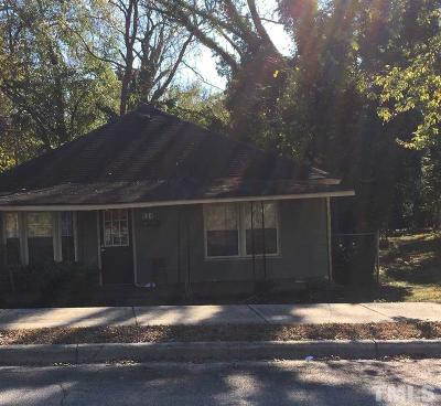 Raleigh Single Family Home For Sale: 534 Bragg Street