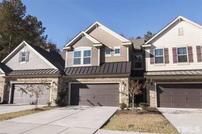 Cary Townhouse For Sale: 518 Rockcastle Drive