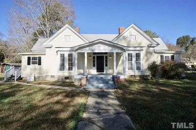 Franklinton Single Family Home Contingent: 411 E Mason Street