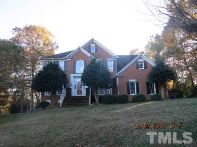 Wake County Single Family Home For Sale: 1504 Whittington Drive
