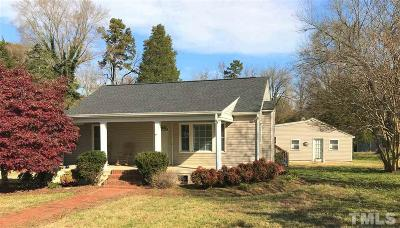Gibsonville NC Single Family Home For Sale: $118,500