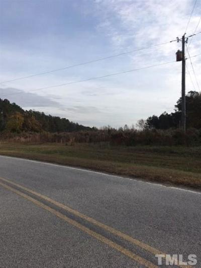 Wendell Residential Lots & Land Contingent: Harris Wilson Road