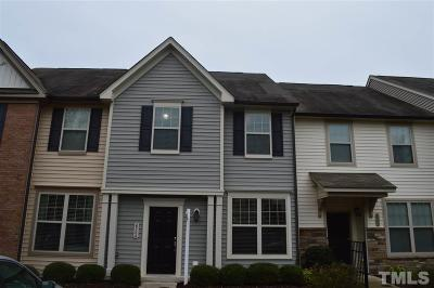 Wake Forest Townhouse Contingent: 4504 Middletown Drive