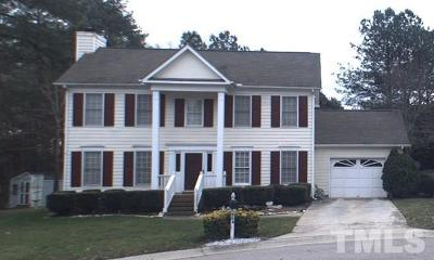 Raleigh Single Family Home For Sale: 904 Reflection Court