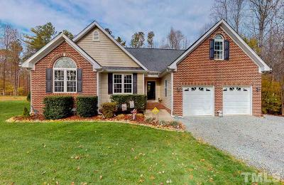 Rougemont Single Family Home Contingent: 240 Punch Hill Farm Road